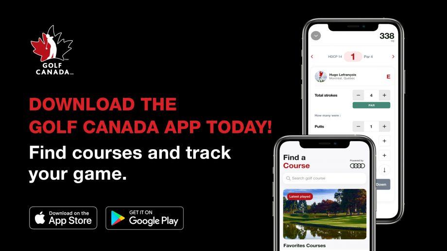 2020 Golf Canada App