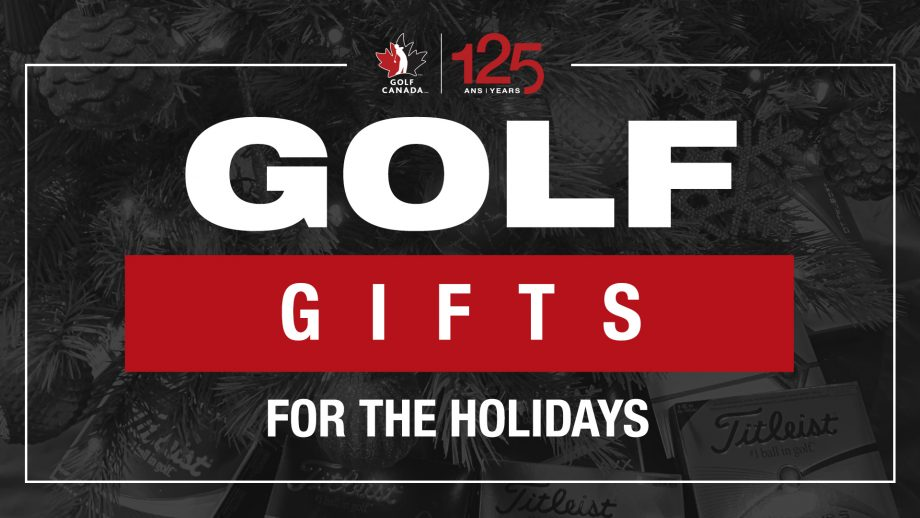 Golf gifts for the holidays